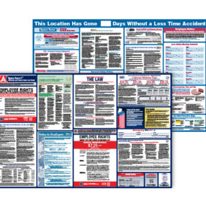 Labor Law and OSHA Safety Poster Bundle