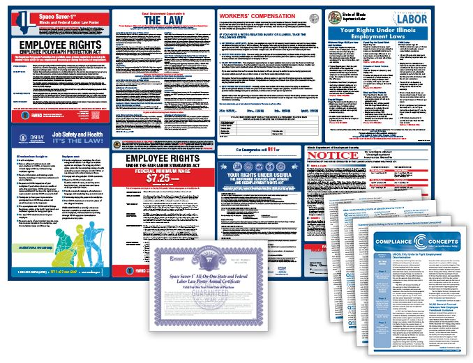 Illinois Labor Law Poster and Subscription