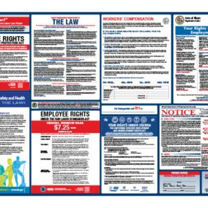 Illinois State & Federal Labor Law Poster