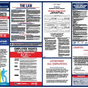 Spanish New York State and Federal Labor Law Poster New York State and Federal Labor Law Poster