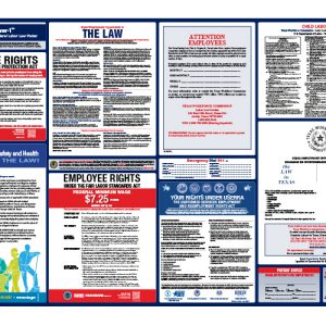 Texas State & Federal Labor Law Poster